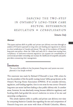 Dancing the Two-Step: More Deterrence-Oriented Regulation = Ownership and Management Consolidation (2015)