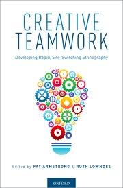 Book cover of Creative Teamwork.