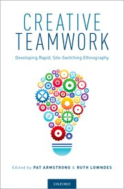 Book cover of Creative Teamwork.