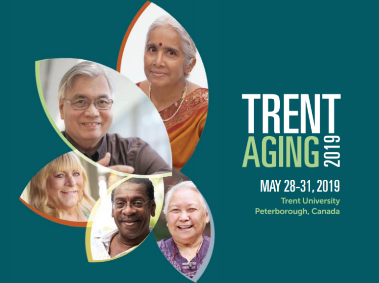 Trent Aging Conference 2019, May 28-31: promotional material